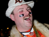 TORONTO, Ont. (25/11/2012) -  BC Lions fan Erik Norrgard shows his enthusiasm during the 100th Grey Cup in Toronto, Ontario on November 25, 2012. Photo by Marta Iwanek.