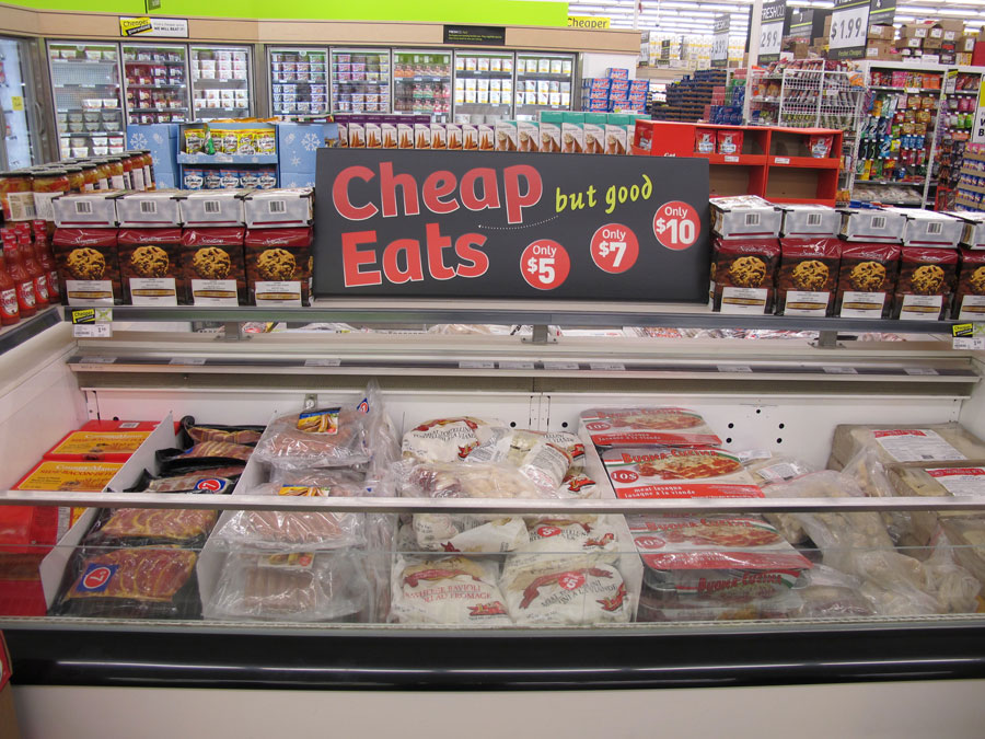 Cheep Food At Grocery Stores