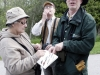 BRIGHTON ONT (22/05/2011) David Bree guides birdwatchers at the Warblers and Whimblers weekend. The weekend event was held at Presqu'ile Provincial Park to celebrate spring migration. Part of the weekend events was guided birdwalks. Bree is a naturalist at the park. Photo by Linda Horn