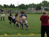 BELLEVILLE, ON (26/05/2011) COSSA Junior Rugby finals. Weldon player attempts to get around the strong Spartan defence. Photo by Steph Crosier