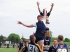BELLEVILLE, ON (26/05/2011) COSSA Junior Rugby finals. Weldon has a throw in. Photo by Steph Crosier
