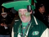 TORONTO, Ont. (25/11/2012) -  Saskatchewan Roughriders fan Dan Iverson shows his enthusiasm during the 100th Grey Cup in Toronto, Ontario on November 25, 2012. Photo by Marta Iwanek.