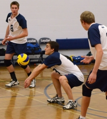 Men's Volleyball home opener