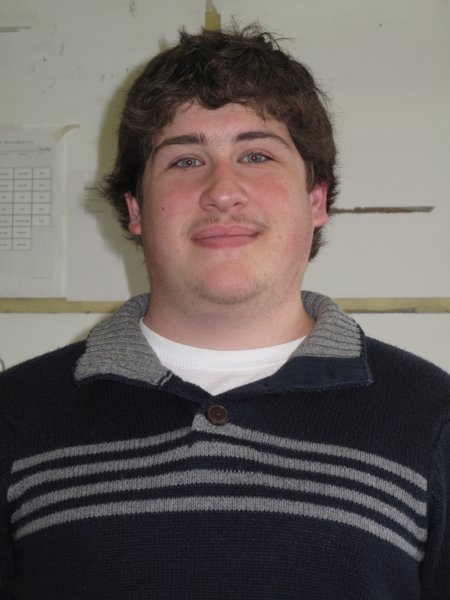 Andrew Mendler, a Journalism: Online, Print and Broadcast student grew his mustache because it was for a good cause. November 30, 2011.