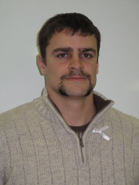 Matt Kerr a Journalism: Online, Print and Broadcast student participated in Movember because he thinks it is a good cause. November 30, 2011.
