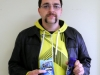 John Gagan, a Child and Youth Worker student, was the Movember contest first prize winner.  Photo by April Lawrence.