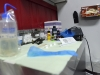 BELLEVILLE, Ont. (02/15/13) - Wild Ink prides themself on their sanitary messures when setting up for tattooings.
