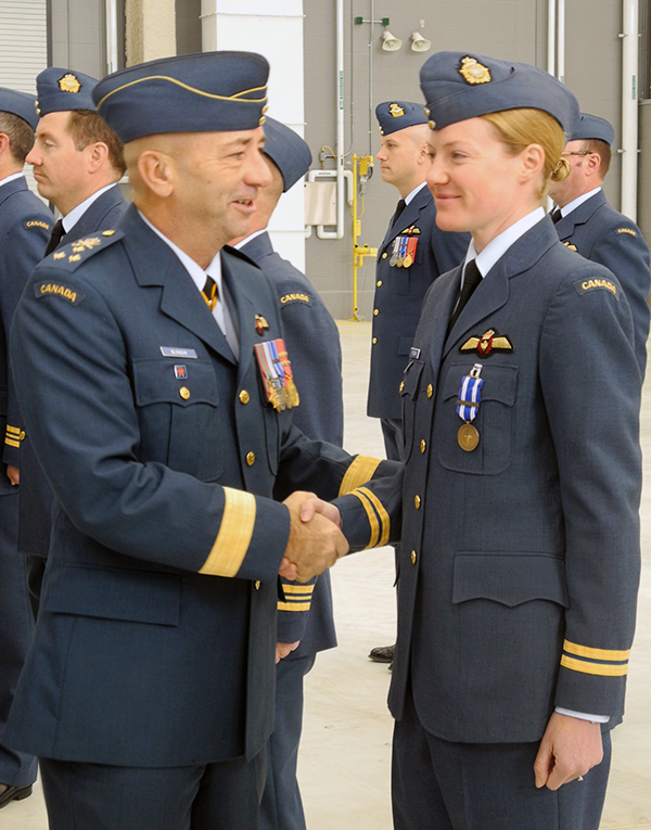 NATO medals given at CFB Trenton | QNetNews ca