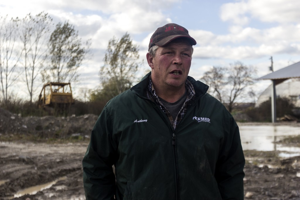 CENTRAL HASTINGS - Anthony Kooistra, chair for Hastings County Dairy Producers, is worried about the impact the deal will have on local dairy farmers. Photo by Jack Carver