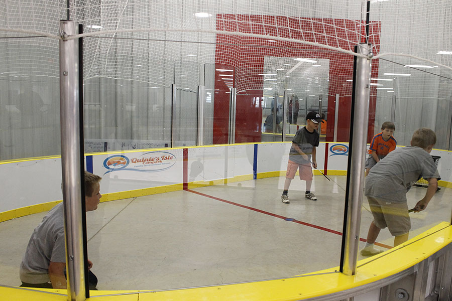 Mini Rink Opens In Essroc Arena Qnetnews Ca