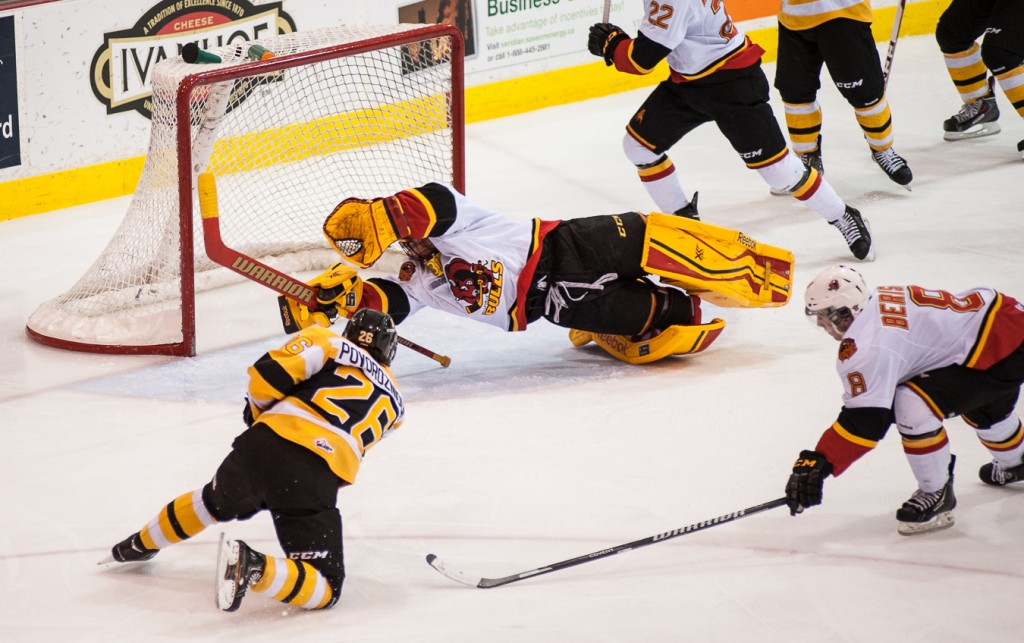 BELLEVILLE – The loss of the Belleville Bulls was a shock to local hockey fans. Is there any chance the Ontario Hockey League play could return to Belleville?<em>File photo by Matthew Desouza, Loyalist Photojournalism</em>