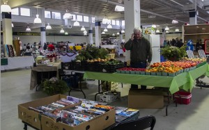 BELLEVILLE, Ont. - Hundreds of people stop to visit the new Mega Flea market located at 161 Bridge Street in Belleville Ontario. There is a variety of items being sold from fresh produce, clothing, toys and comic books. Photo by Dawn Barger.