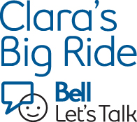 The Bell Let's Talk initiative raises awareness and donates to mental health through Let's Talk Day held Jan. 28 and Clara's Big Ride which will begin Mar. 14. Photo courtesy of Bell.