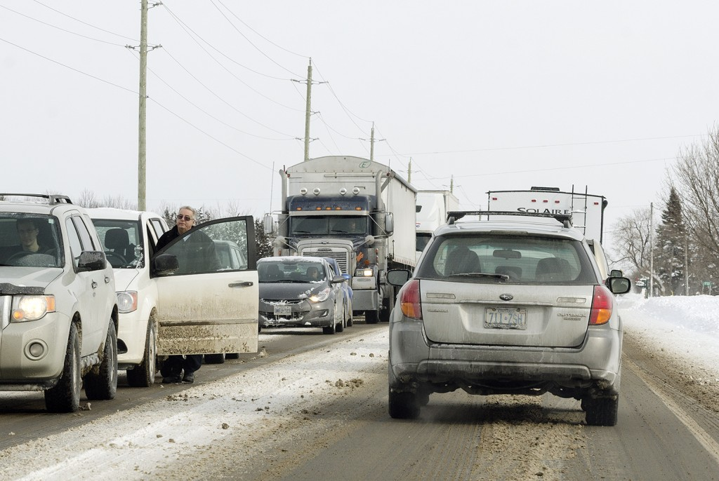 With the weather forecast expected to be similar to last year, Ontario drivers are preparing for the road conditions to come.  Photo by Franki Ikeman, Loyalist Photojournalism