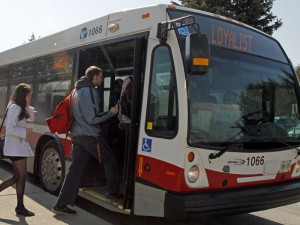 A survey will be given to Belleville Transit passengers starting Tuesday, September 30th. Photo by Katie Coleman