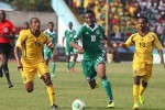 Mikel John Obi, a Nigerian player, racing across the field in the  U. J. Esuene Stadium in Calabar while Ethiopian players, Adane Girma, left, and Shemeles Bekele, right, try to steal the ball from Obi during the 2014 World Cup qualifying playoff second leg match on Sunday. Photo from http://i.cbc.ca/1.2429281.1384625136!/fileImage/httpImage/image.jpg_gen/derivatives/16x9_620/nigeria-ethiopia.jpg
