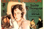 The poster for the silent film Sadie Thompson.  Source: http://www.mardecortesbaja.com/SwansonSadie.jpg