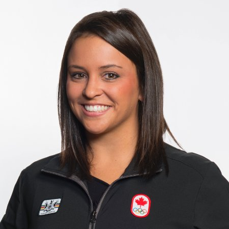 Amy Farrow, a Loyalist graduate, is returning to work at the college after working six years for the Canadian Olympic Committee.