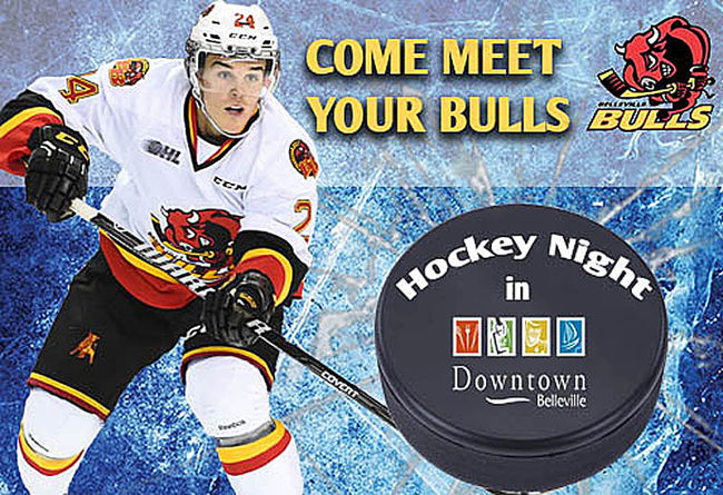 Belleville Bulls are going downtown