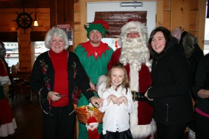 Breakfast with Santa is an annual event at the Boathouse. Photo by the Boathouse.