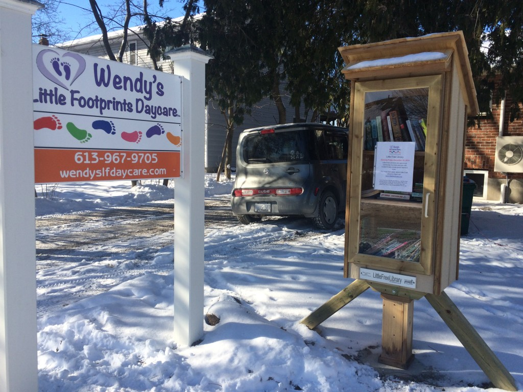 BELLEVILLE – This Little Free Library is located at 30 Howard Street in West End Belleville.