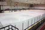 The Wally Dever Arena during the adult recreational skate.