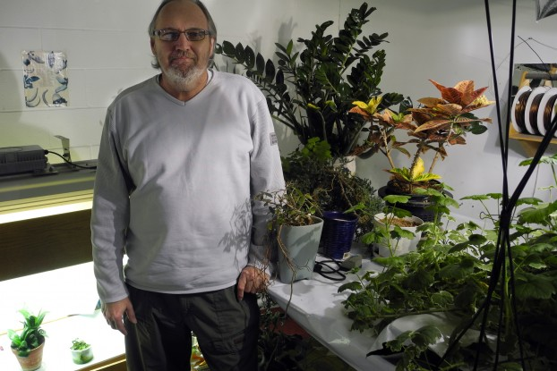 BELLEVILLE - Ross Middleton is the co-owner of B.M.A Hydroponics in Belleville. He's been using medical marijuana since 2006 and says he's confident next months injunction hearing will go in his favour. Photo by Greg Murphy.