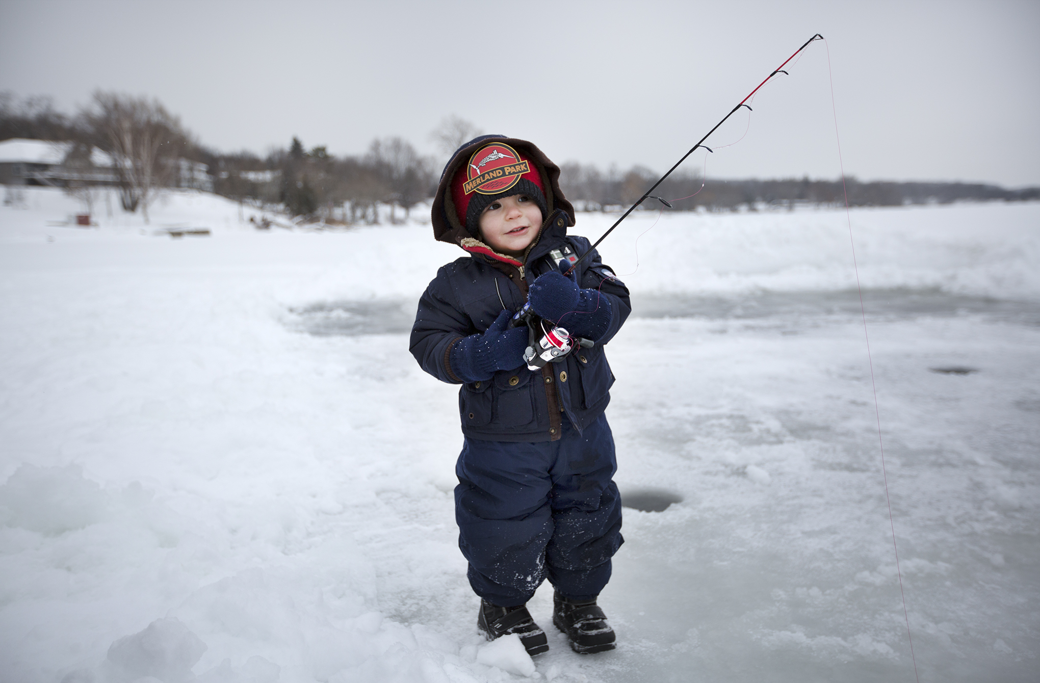 Three day ice fishing derby in picton finished february 8 for Ice fishing show