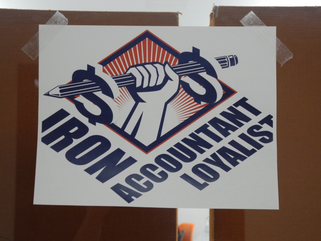 The Iron Accountant Loyalist competition was held at Loyalist College on Tuesday. Photo by Bevan Hamilton