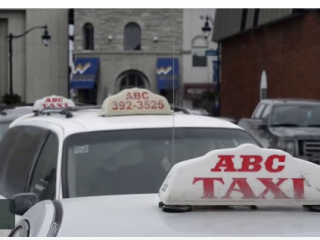 Taxi company like a step into the past
