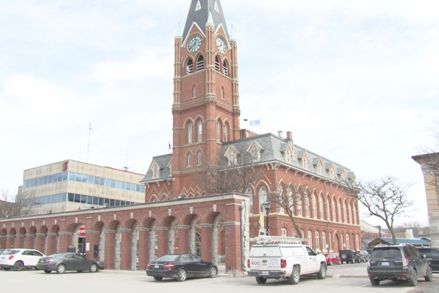 Belleville's city hall. Photo by Cam Kennedy