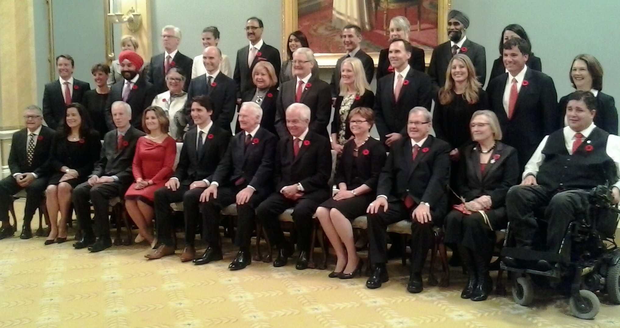 New look cabinet greeted with excitement | QNetNews.ca