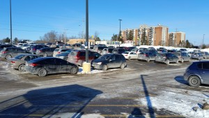 Belleville General Hospital parking lot