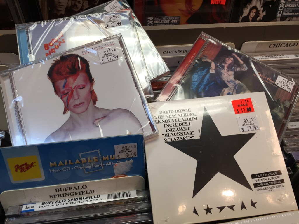 Bowie Music