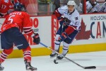 Michael Cramarossa is now wearing number 43 for his new team the Hamilton Bulldogs. Photo from hamiltonbulldogs.com.