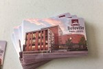 New library card featuring a photo by David and Bath Lumbers Photography.