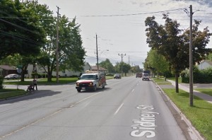 H & H Construction has been commissioned to reconstruct and expand the water main below Sidney Street in Belleville. Photo retrieved from Google Maps.