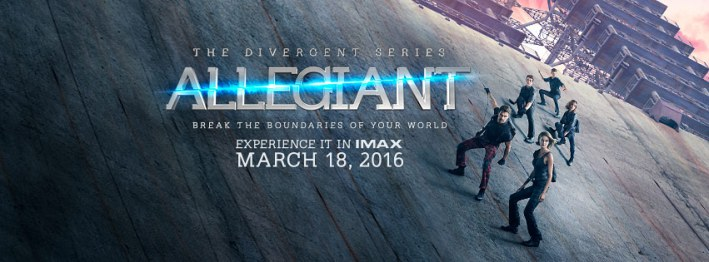 One of the first official posters released by Lionsgate and Summit Entertainment of the third instalment of the Divergent series, Allegiant.