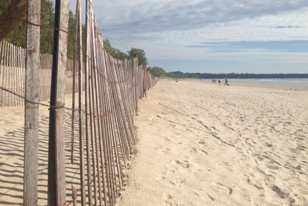 Even in the last days of summer, Sandbanks is still a busy tourist destination as the weather cools down. Photo by Charlotte McParland, QNet News