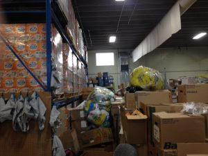 Gleaners food bank.