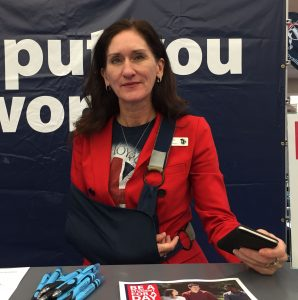 Director of enrollment services at Loyalist College Laura Naumann, said the open house was a success. Photo by Stephanie Clue, QNet News