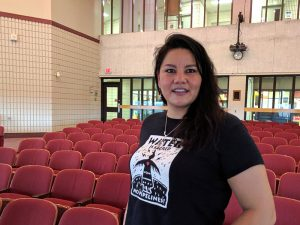 Indigenous filmmaker Candace Maracle came to Loyalist College to talk about her latest documentary on Nov. 30, 2016. She also gave advice to the student journalists who attended.