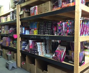 A board game is included in every box the firefighters send out for the toy drive. Photo by Stephanie Clue, QNet News