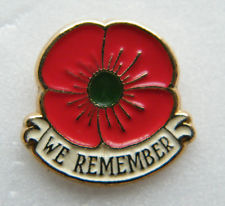 A Royal Canadian Legion poppy pin. The legion says this is acceptable to wear in place of a poppy. Photo Credit: eBay