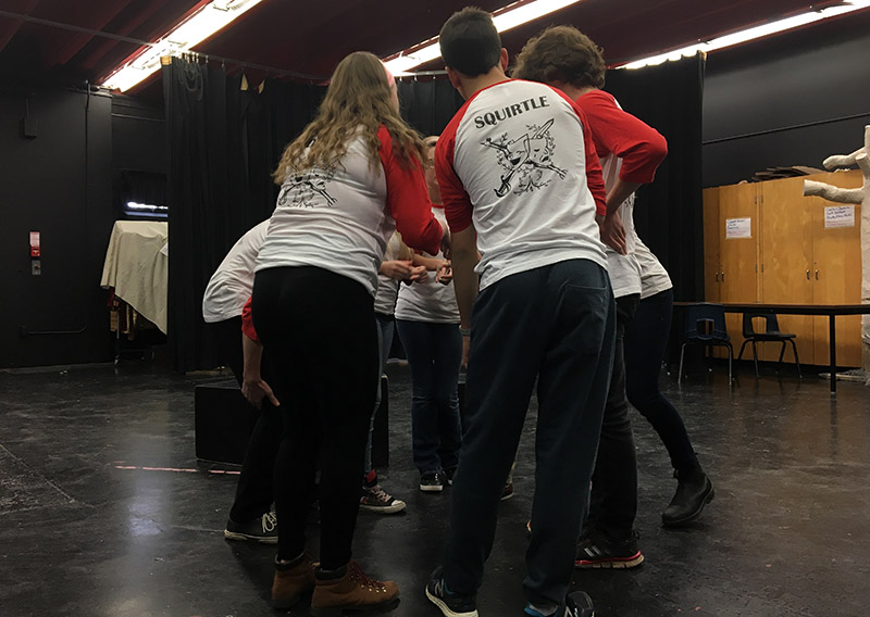 Local team gearing up for Canadian Improv Games   QNetNews.ca