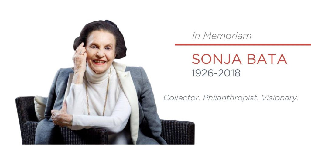 Sonja Bata, founder of Bata Shoe Organization