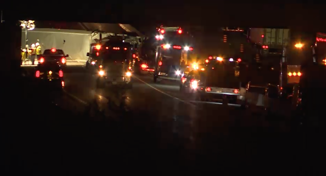 Fatal accident closes eastbound Highway 401 for over 15